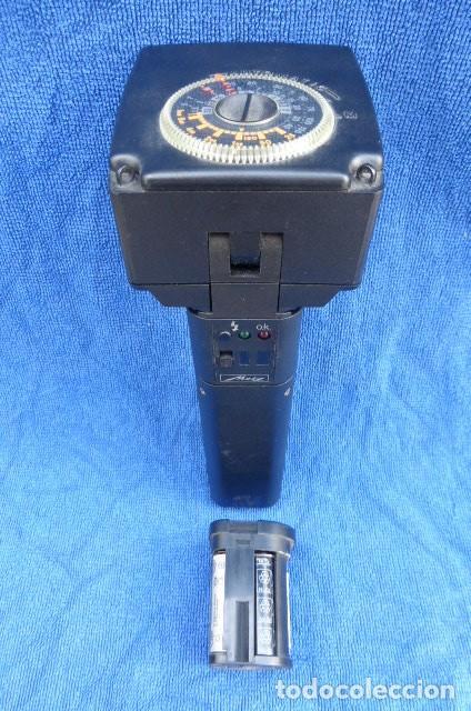 Cámara de fotos: Flahs profesional Metz 45 CL-1 , Alemania...con bateria recargable...Descripcion. - Foto 3 - 93585485