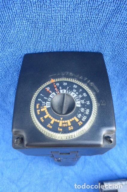 Cámara de fotos: Flahs profesional Metz 45 CL-1 , Alemania...con bateria recargable...Descripcion. - Foto 7 - 93585485