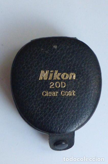 ESTUCHE ORIGINAL NIKON PARA FILTRO 20 D CLEAR COAT..JAPON. NUEVO. (Cámaras Fotográficas Antiguas - Objetivos y Complementos )