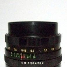 Cámara de fotos: ÓPTICA HELIOS 44M, F2 58MM. Lote 93599765