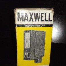 Cámara de fotos: FLASH MAXWELL . Lote 94233435