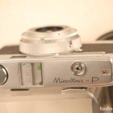 Cámara de fotos: CAMARA MINOLTA -MINOLTINA -P PERFECTA FUNDA ORIGINAL. Lote 95182459