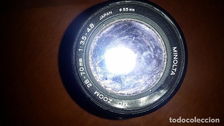 Cámara de fotos: 2 objetivos Minolta mas regalo de camara Minolta encasquillada - Foto 3 - 95730679