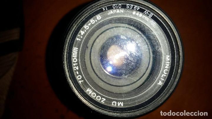 Cámara de fotos: 2 objetivos Minolta mas regalo de camara Minolta encasquillada - Foto 4 - 95730679