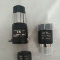Cámara de fotos - OCULARES PARA TELESCOPIO KE 10mm y KE 25 mm Wide Angle y lente de Barlow - 96507463