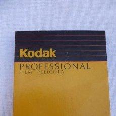 Cámara de fotos: PELICULA KODAK VERICOLOR.., 10 FILMS DE 9X12...CON AÑOS..PRECINTADA.. Lote 96708943