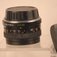 Cámara de fotos: OBJETIVO YASHICA M.L 50.M.M1.2 FILTRO NEUTRO. Lote 97151503