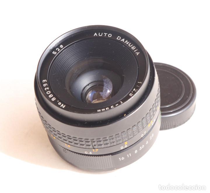 Cámara de fotos: Objetivo Auto - DANUBIA (Dörr-Foto Ulm) Japan f2.8 35mm • Angular montura réflex M42 - Foto 4 - 97214027
