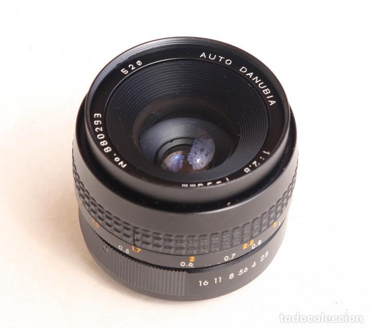 Cámara de fotos: Objetivo Auto - DANUBIA (Dörr-Foto Ulm) Japan f2.8 35mm • Angular montura réflex M42 - Foto 2 - 97214027