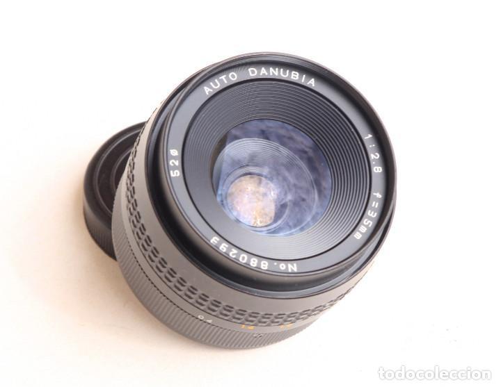 Cámara de fotos: Objetivo Auto - DANUBIA (Dörr-Foto Ulm) Japan f2.8 35mm • Angular montura réflex M42 - Foto 5 - 97214027