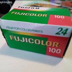 Cámara de fotos: CARRETE FOTOS CADUCADO FUJICOLOR 100 24 DIAPOSITIVAS. Lote 97518139