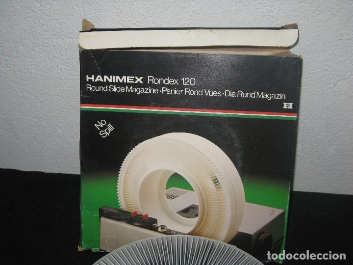 Cámara de fotos: Hanimex Rondex 120 (incluye 65 diapositivas) - Foto 2 - 98395819