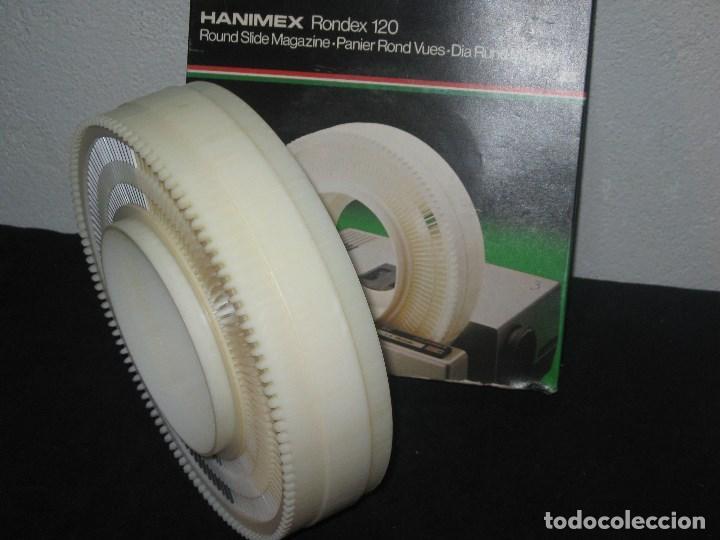 Cámara de fotos: Hanimex Rondex 120 (incluye 65 diapositivas) - Foto 6 - 98395819