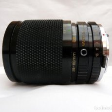 Cámara de fotos: OBJETIVO MACRO ZOOM SOLIGOR C/D PARA OLYMPUS OM 28-80MM F 3.5-4.5. Lote 98744379