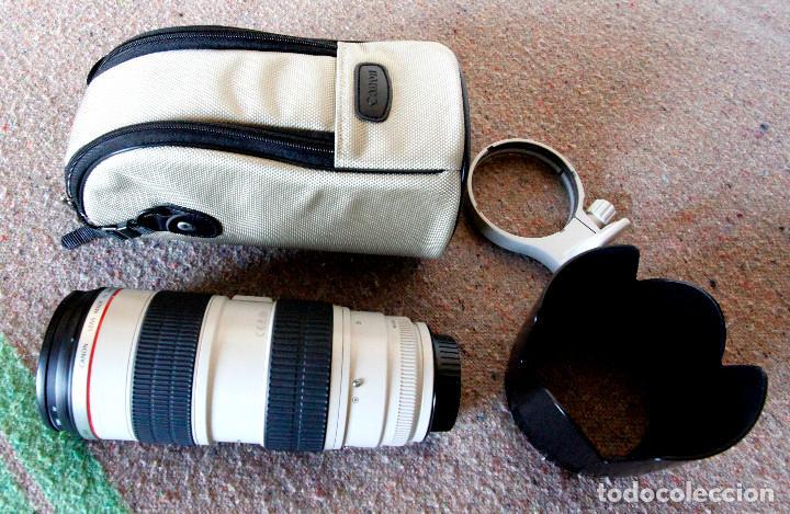 Cámara de fotos: Objetivo Canon EF 70-200 mm / 1:2,8 L USM Ultrasonic - Como nuevo Impecable estado - Foto 2 - 98773259