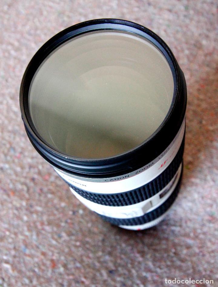 Cámara de fotos: Objetivo Canon EF 70-200 mm / 1:2,8 L USM Ultrasonic - Como nuevo Impecable estado - Foto 3 - 98773259