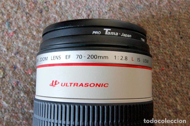 Cámara de fotos: Objetivo Canon EF 70-200 mm / 1:2,8 L USM Ultrasonic - Como nuevo Impecable estado - Foto 5 - 98773259
