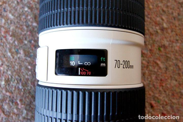 Cámara de fotos: Objetivo Canon EF 70-200 mm / 1:2,8 L USM Ultrasonic - Como nuevo Impecable estado - Foto 6 - 98773259