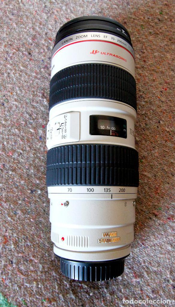 Cámara de fotos: Objetivo Canon EF 70-200 mm / 1:2,8 L USM Ultrasonic - Como nuevo Impecable estado - Foto 8 - 98773259