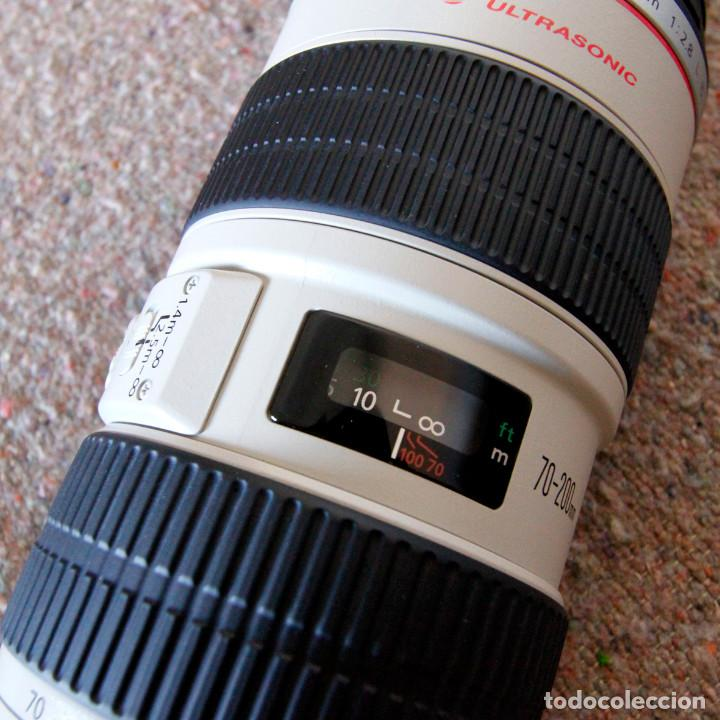 Cámara de fotos: Objetivo Canon EF 70-200 mm / 1:2,8 L USM Ultrasonic - Como nuevo Impecable estado - Foto 9 - 98773259