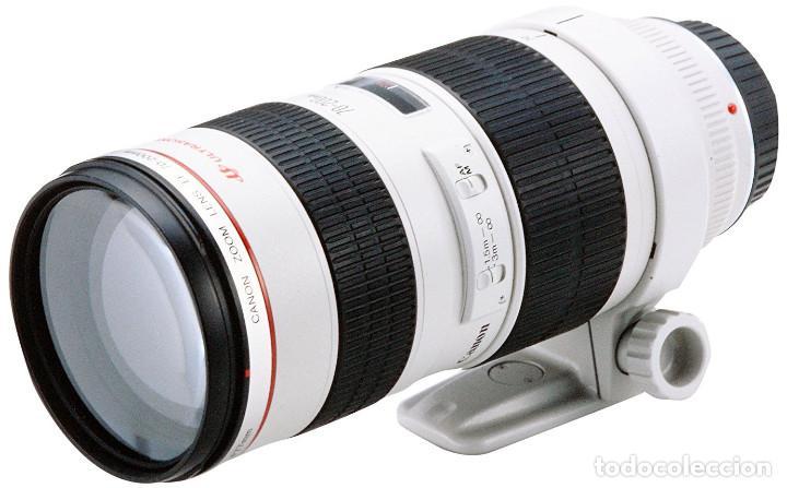 Cámara de fotos: Objetivo Canon EF 70-200 mm / 1:2,8 L USM Ultrasonic - Como nuevo Impecable estado - Foto 19 - 98773259