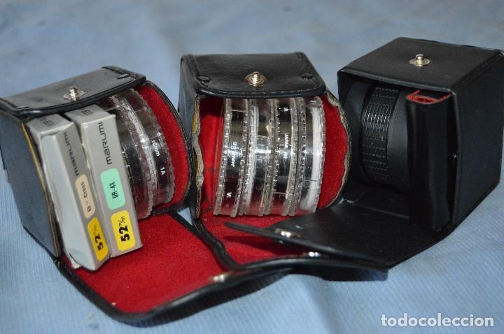 LOTE DE FILTRO / FILTROS DE CÁMARAS DE FOTOGRAFÍA - HAMA Y MARUMI - ¡MIRA FOTOGRAFÍAS Y DETALLES! (Cámaras Fotográficas Antiguas - Objetivos y Complementos )