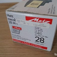 Cámara de fotos: FLASH METZ MECABLITZ 28 M-1. Lote 99908259