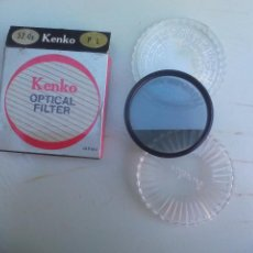 Cámara de fotos: KENKO PL 52MM MADE IN JAPAN. FILTRO ÓPTICO PARA CÁMARA FOTROGRÁFICA. OPTICAL FILTER. Lote 100517743