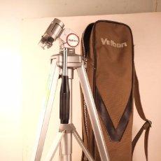 Cámara de fotos: TRIPODE VELBON 3-SECIONES. CERRADO-55- ALTO -150- FUNDA EX-90 PERFECTO. Lote 101442923