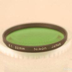 Cámara de fotos: FILTRO NIKON X.1- 52.M.CAJA NIKON PERFECTO. Lote 101444615