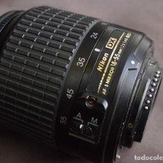 Cámara de fotos: NIKKOR 3.5-5.6G/18-55MM ED-DX. Lote 104409711