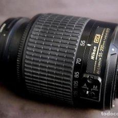 Cámara de fotos: NIKKOR 4.5-5.6G/55-200MM. Lote 104410527