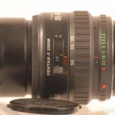Cámara de fotos: OBJETIVO PENTAX F .ZOOM 28-80 MACRO 1.3.5-4-5 . Lote 104680347