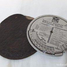 Cámara de fotos - Agfa Din. Tabla calculadora de exposiciones. 1936 - 104821383