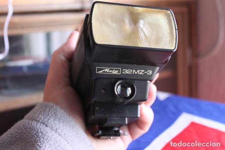 FLASH METZ 32 MZ3 + SCA 3401 (Cámaras Fotográficas Antiguas - Objetivos y Complementos )