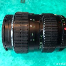 Cámara de fotos: OBJETIVO PENTAX - A ZOOM 28-80MM F3.5-4.5. Lote 105354127