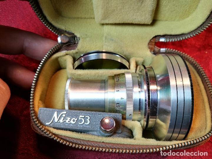 Cámara de fotos: OBJETIVO Y ACCESORIOS PARA TOMAVISTAS FILMADORA NIZO AÑOS 40-50-SCHNEIDER KREUZNACH CURTAR 0,5 X - Foto 22 - 105504227
