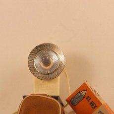 Cámara de fotos: FLASH ANTIGUO DE ABANICO FUNDA ORIJINAL CAJA 5 LAMPARAS X.M. 1.B. Lote 105672855