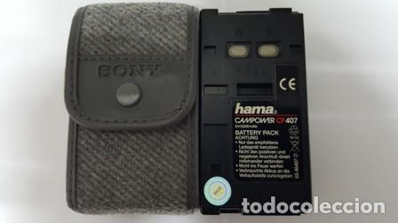 BATERIA PACK CAMARA DE VIDEO - HAMA CAMPOWER - CP 407 - CON FUNDA - (Cámaras Fotográficas Antiguas - Objetivos y Complementos )