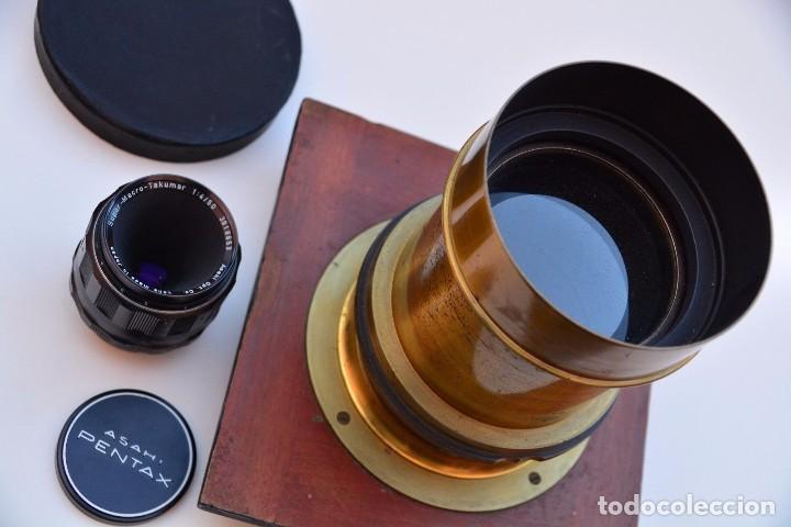 Cámara de fotos: Muy Especial Hermagis Eidoscope NO.2 F/5 Lente de retrato - Foto 2 - 105814287