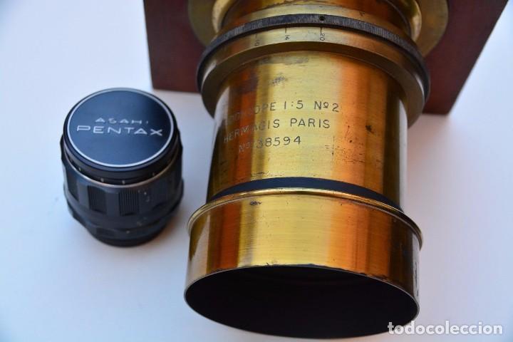 Cámara de fotos: Muy Especial Hermagis Eidoscope NO.2 F/5 Lente de retrato - Foto 6 - 105814287