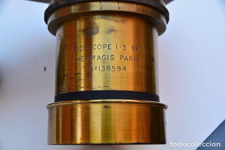 Cámara de fotos: Muy Especial Hermagis Eidoscope NO.2 F/5 Lente de retrato - Foto 7 - 105814287