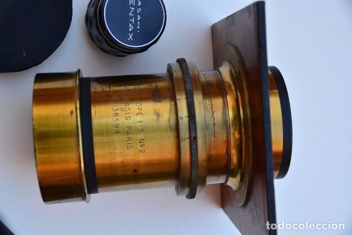 Cámara de fotos: Muy Especial Hermagis Eidoscope NO.2 F/5 Lente de retrato - Foto 8 - 105814287