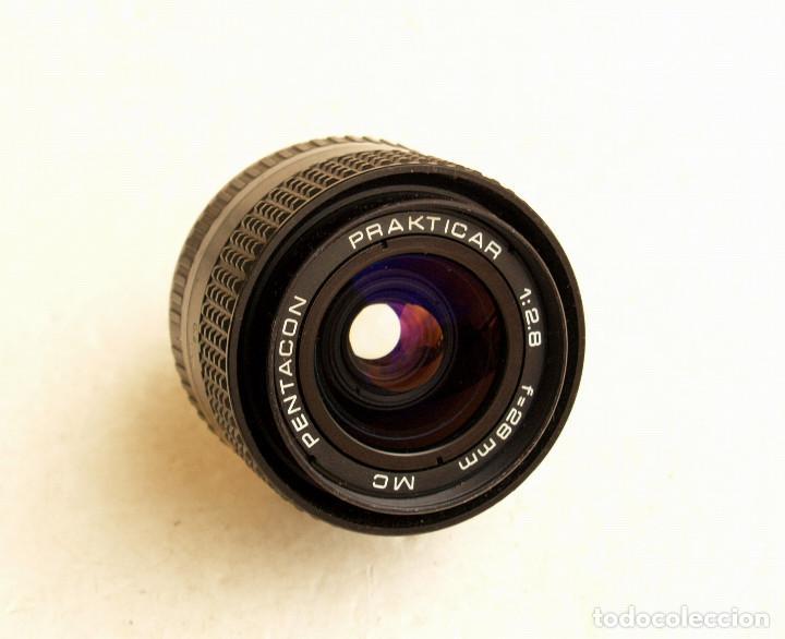 Cámara de fotos: Pentacon Prakticar MC f2.8 28mm OBJETIVO ANGULAR (Wide lens) • Montura bayoneta PB - Foto 2 - 105857039