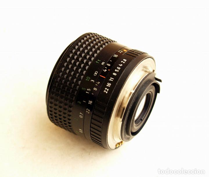 Cámara de fotos: Pentacon Prakticar MC f2.8 28mm OBJETIVO ANGULAR (Wide lens) • Montura bayoneta PB - Foto 5 - 105857039