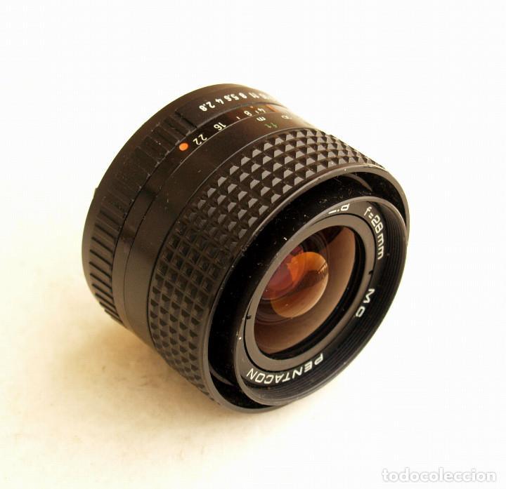 Cámara de fotos: Pentacon Prakticar MC f2.8 28mm OBJETIVO ANGULAR (Wide lens) • Montura bayoneta PB - Foto 6 - 105857039