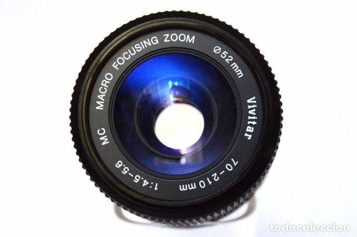 Cámara de fotos: Vivitar 70-210mm F 4.5-5.6 MC Macro 1.5x Focusing Zoom Objetivo para Minolta MC - Foto 3 - 105885015