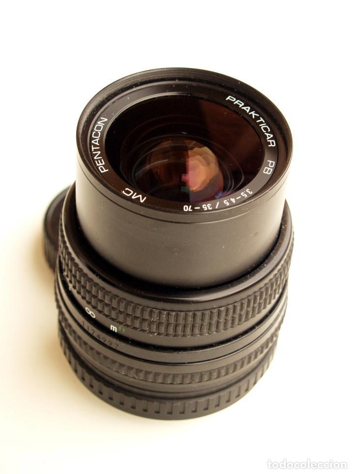 PENTACON PRAKTICAR MC F3.5-4.5 35-70 MM OBJETIVO ZOOM (COMPACTO) • MONTURA BAYONETA PB (Cámaras Fotográficas Antiguas - Objetivos y Complementos )