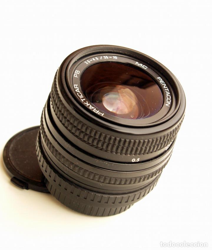 Cámara de fotos: Pentacon Prakticar MC f3.5-4.5 35-70 mm OBJETIVO ZOOM (Compacto) • Montura bayoneta PB - Foto 2 - 106703303