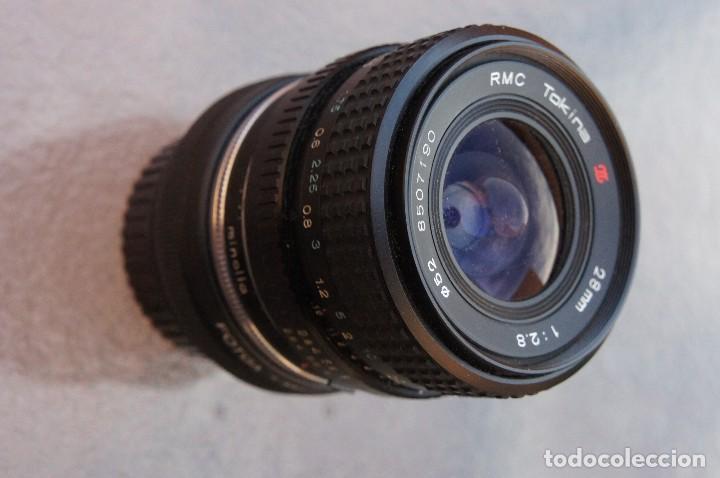 28 MM F/ 2,8 PARA SONY NEX (OPCIONAL MINOLTA MD.) (Cámaras Fotográficas Antiguas - Objetivos y Complementos )